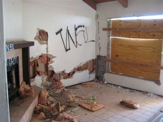 Property Distruction Caused By Evicted Tenants